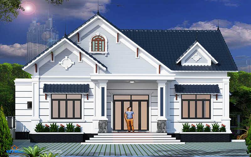 mẫu thiết kế nhà -đẹp 2 tầng 5x15m